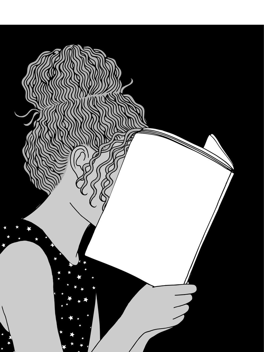 Frau liest…